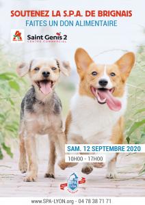 Collecte-Auchan St-Genis-Laval 12 septembre 2020