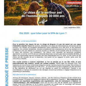 Communiqué_SPA Lyon_BilanEte2020